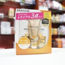 Bộ dầu gội & xả Pantene sét 3 màu vàng(300ml+270g+70g) rẻ nhất