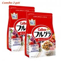 Combo 2 Ngũ cốc Calbee (800g x 2) nội địa Nhật giá rẻ nhất