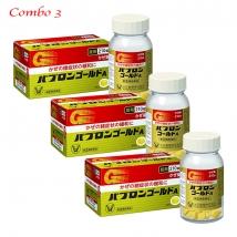 Combo 3 hộp Viên Uống Hỗ Trợ Trị Cảm Cúm Taisho Pabrons Nhật Bản (210 viên x 3 hộp)