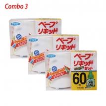 Combo 3 bộ máy đuổi muỗi nội địa Nhật Bản giá rẻ nhất