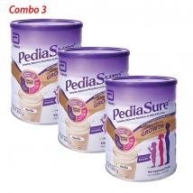 Thùng 3 hộp sữa Pediasure Úc hương vani (850g x 3) giá rẻ nhất