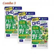 Combo 3 gói viên uống rau củ DHC (240 viên x 3) nội địa Nhật rẻ nhất