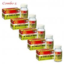 Combo 5 hộp Viên Uống Hỗ Trợ Trị Cảm Cúm Taisho Pabrons Nhật Bản (210 viên x 5 hộp)