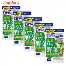 Combo 5 gói Viên uống rau củ quả DHC Premium (240 viên x 5) rẻ nhất