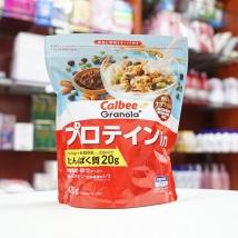 Ngũ cốc Calbee 420g (màu đỏ) nội địa Nhật Bản