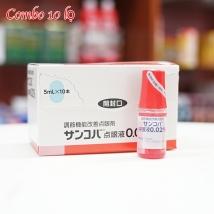 Combo 10 Nhỏ Mắt Sancoba (5ml x 10) Nhật Bản