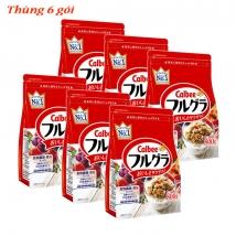Thùng 6 gói ngũ cốc Calbee (800g x 6 túi) nội địa Nhật Bản giá rẻ nhất