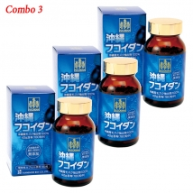 Combo 3 tảo ung thư Fucoidan OKINAWA (180 viên x 3) giá rẻ nhất