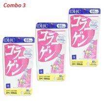 Combo 3 Collagen DHC 60 ngày (360 viên x 3 gói) nội địa Nhật Bản