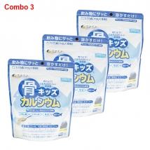 Combo 3 gói Canxi cá tuyết (140g x 3) nội địa Nhật giá rẻ nhất
