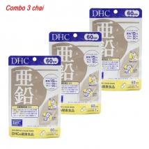 Combo 3 gói Viên uống bổ sung kẽm DHC (60 viên x 3) nội địa Nhật giárẻ nhất